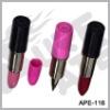 Plastic Lipstick shape pen