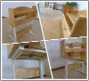 Children desk /Solid Oak wood desk