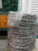 security barbed wire -- factory (pvc coated, galvanized, stainless steel)