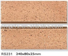 Split clay wall tile Terracotta tile