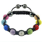 custom new york shamballa bracelet wholesale