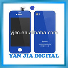 For Apple Iphone 4 Blue LCD Kit With Best Price