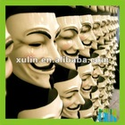Wholesale plastic v for vendetta party mask