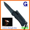 Multi-function Knife with torch and fire starter(LA912)