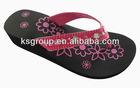 New design diamond women wedge heel eva slipper