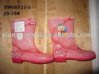 New Arrived Kids PVC Rain Boots