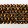 Only 3.39! Wholesale Grade A+ Round Tiger's Eye Loose Strand