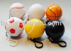 Football promotion ball/ball keychian/plastic ball keyring