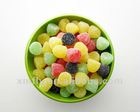 Fruit flavours jelly candy