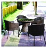 rattan dining chair A-105