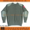 Military Army Wool Sweater Pullover
