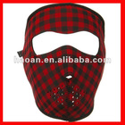 Plaid Manufacturer snowboard masks neoprene NSM-032