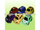 2012latest item plastic candy toy Candy slide cartoon car