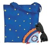Rocket Folding Tote bags /Funny Shopping bags