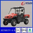 2012 new red eec utility terrain vehicle 700cc utv (HS 700UTV -B)