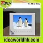 8 inch slim design multifunction touch key digital photo frame