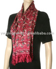 Fashionable Double Layer Lady Silk Scarf