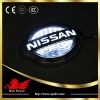 Nissan emblem led light 3D effect with laser