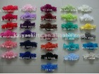 wholesale handmade baby lace headbands with flower