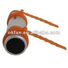 Factory Price 2.5mm Jack With Screws Waterproof Sport MP3 Player With FM