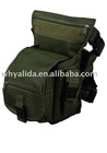 Military army fashion Inclined Olive Green Backpack With Nets