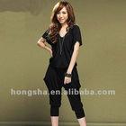 2012 summer short sleeve casual jumpsuit Hsj-016