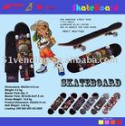 Flame Speed Surfer Skateboard SKT-11