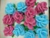 3D flower bath sponge