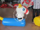 new design inflatable fun derby horse for kids