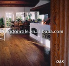 TThree layers engineered wood flooring Hand-scraped Oak