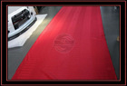 BRIDE RED SEAT FABRIC CLOTH (WIDTH = 1.6 METER)