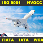 Air shipping services from America to China