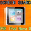 Screen Protector for Apple iPod Nano 6 6th Gen