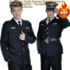 T/C black security guard clothing