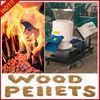 flat-die sawdust pellet machine