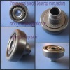 bearing with plastic