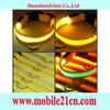 Colorful Nylon LED Dog Night Safety Collar Flashing Light Up Pet Collar SL00175