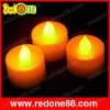 Flashing Candle Yellow ligthing