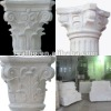 Natural stone column cap