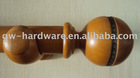 wood curtain rods, wood curtain pole, wood curtain rail