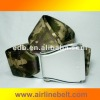 Fashionable high quality camouflage buckle belt