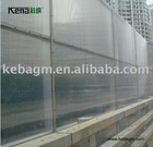 KEBA noise barrier pc sheet
