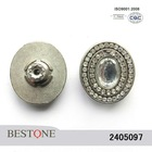 Crystal Rhinestone Metal Button