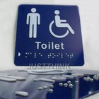 Customized Acrylic 3D Door Sign Braille Sign Plate