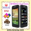 4.0 inch Android phone Bedove X12 With MTK6577 & GPS