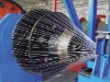 Steel wire armouring machine for cable