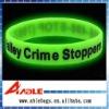 Luminous silicone wristband BR-39
