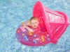 2012 new design inflatable baby car and boat with canopy