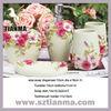 Polyresin Flower Wedding Bathroom Sets Factory