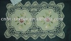 HOT! ribbon embroidery placemat